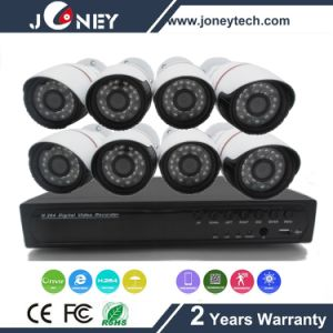 Home Security 8CH Poe NVR with 1.3MP IP Camera pictures & photos