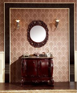 Ancient Solid Wood Bathroom Vanity pictures & photos