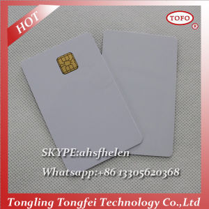 Printable PVC Inkjet 5528 Chip Card for Epson L800 Printer pictures & photos