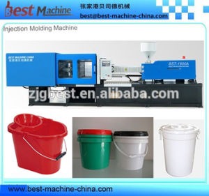 Customized Plastic Paint Bucket Injection Molding Machine Producer pictures & photos