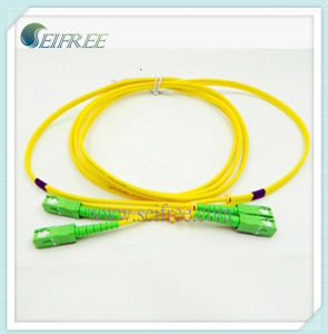 Fiber Optical Patchcord with Sc/APC Connector pictures & photos