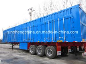13m 3 Axles Box Transport Semi Trailer Sty9400xxyp pictures & photos