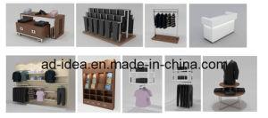 Pop Metal Clothing Display Rack / Garment Store Island Display pictures & photos