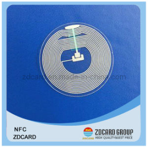 Customized Ntag213 Waterproof NFC Epoxy Card pictures & photos