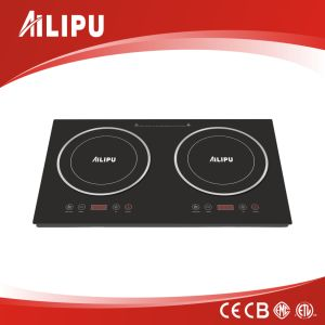 2016 New Design CE CB RoHS EMC Double Induction Hobs/Electric Burners Plate pictures & photos
