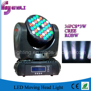 36PCS LED Stage Moving Head Lighting with CE & RoHS (HL-007BM)