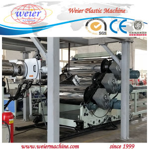 300kg Output of Plastic PP PE Sheet Manufacture Machinery pictures & photos