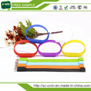 Silicone Bracelet USB Flash Drive/USB Flash Disk pictures & photos