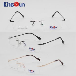 Metal Rimless High Quality Optical pictures & photos