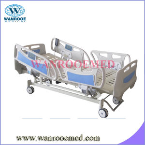 with Long Siderails Five Functions Electric Hospital Bed pictures & photos
