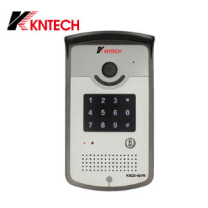 VoIP Door Phone Video Camera Access Control Telephone Knzd-42vr Kntech pictures & photos