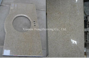 G682 Beige Yellow Granite, Misty Yellow Granite, Countertop pictures & photos