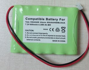 Wirefree Alarm Battery for Yale Hsa6400 Alarm 60aaah6bmjaaa