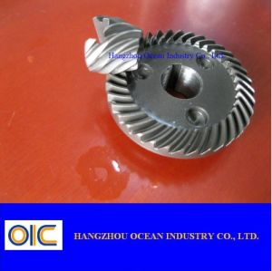Gleason Spiral Bevel Pinion Gear pictures & photos