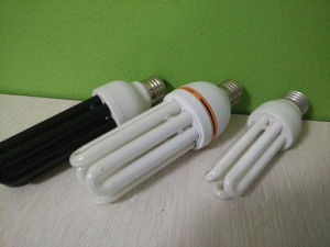 12W 15W 18W T4 U Shaped CFL Energy Saving Lamp pictures & photos