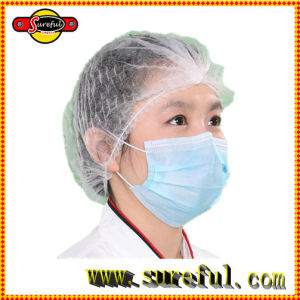Disposable Non Woven Face Mask 3 Ply for Medical Use / 3ply Disposable Face Mask Made with Earloop pictures & photos
