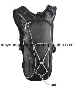 Black Lightweight Nylon Hydration Back Pack Hydration Bag pictures & photos