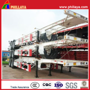 2-3 Axles 20-40FT Skeletal Container Chassis Semi Trailer pictures & photos