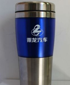 Colorfull with Logo Sports Stainless Coffee Mug for Promotion Gift pictures & photos