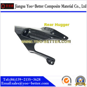 Carbon Fiber Motorcycle Parts for Rear Hugger