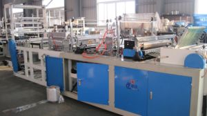China Automatic Soft Loop Handle Bag Making Machine pictures & photos