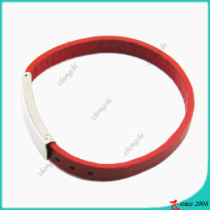 Fashion Girls Red Genuine Leather Bracelet (LB)