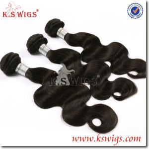 Factory Price 5A 100% Natural Colour Virgin Unprocessed Indian Hair pictures & photos