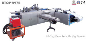 Btcp-297b Full Automatic A4 Paper Over Wrapping Machine pictures & photos