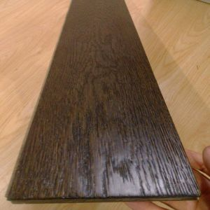 Multi-Layer Smoked Black Oak Engineered Wood Flooring pictures & photos