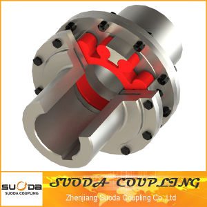 Double Flange Plum Blossom Type Elastic Coupling pictures & photos