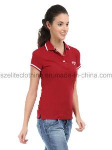 Custom Women Designer Polo Shirts (ELTWPJ-249) pictures & photos