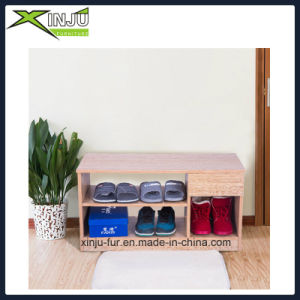 2 Layer Shoe Cabinet with 1 Drawer pictures & photos