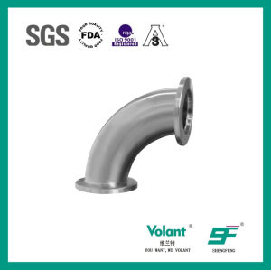 Stainless Steel Sanitary 90d Bend Elbow with Clamp (SF1000034) pictures & photos