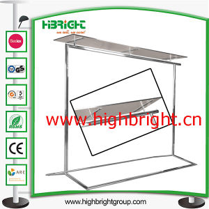 Customized Clothing Store Wooden and Metal Display Stand pictures & photos