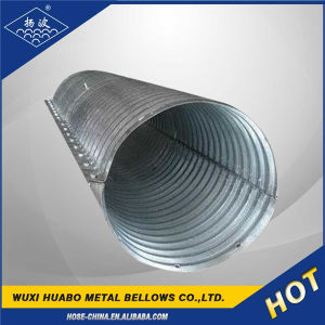 Yangbo Large Diameter Corrugated Drainage Pipe pictures & photos