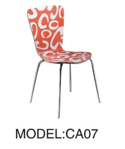 Stainless Steel Betwood Chair with Pattern pictures & photos