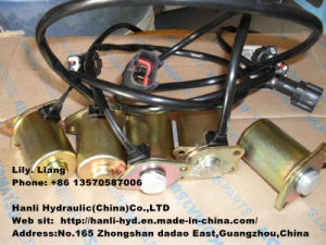Hydraulic Hitachi Solenoid Valve for Sany/ Caterpillar/ Shovel/ Mini Excavator pictures & photos