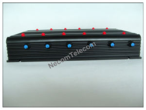 Powerful 4G/Lojack Signal Blocker/Jammer, New 12 Bands 3G CDMA GPS Cell Phone Signal Jammer pictures & photos