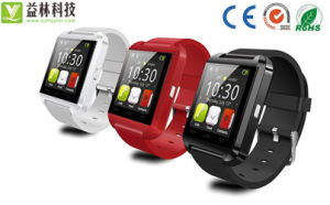 Watch Mobile Phone with USB Data Cable&Inside Portable Battery