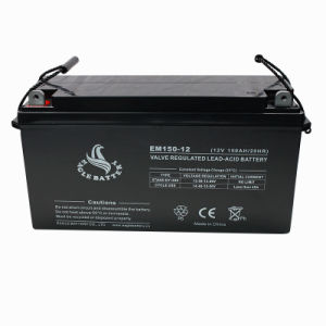 12V 150ah Maintenance Free Sealed Lead Acid Battery pictures & photos