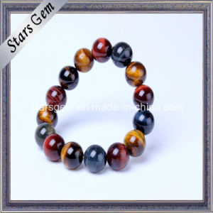 Good Quality Brazil Colorful Tiger-Eye Bracelet pictures & photos