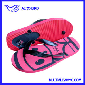 2016 Specially Design Bottom Opener EVA Slippers pictures & photos