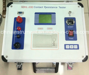 Gdhl-200 200A Circuit Breaker Contact Resistance Tester pictures & photos