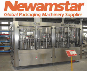 Isobaric Washing-Filling-Capping Monoblock for Beverage Line pictures & photos