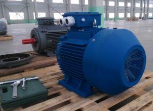 Ie3 Iron High Efficiency AC Motor 20HP 15kw 2p