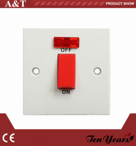 Classic White 45A Wall Switch for A/C