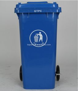 Taizhou Plastic 120L Waste Bin pictures & photos