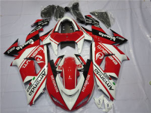 White and Red Fairings Zx 10r 06 07 for Kawasaki