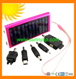 2015 Low Voltage Chargeable Solar Power Bank with Flashlight pictures & photos