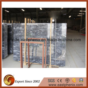Natural Polished Italy Grey Stone Marble Slab pictures & photos